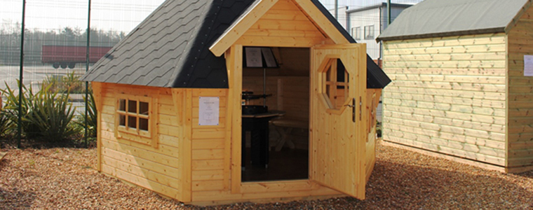 Get cooking with our range of BBQ Cabins