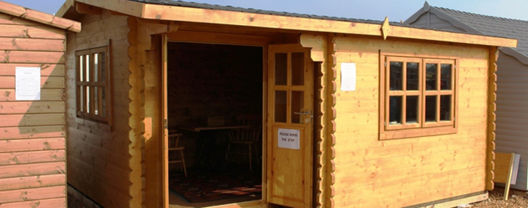 View our wide range of Log Cabins available